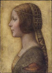 The drawing known as La Bella Principessa