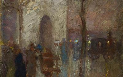 1877 Whistler Nocturne