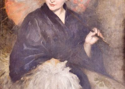 Whistler's Lady with Umbrella / Lady with Parasol